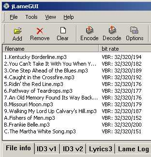 encodeur mp3 lame